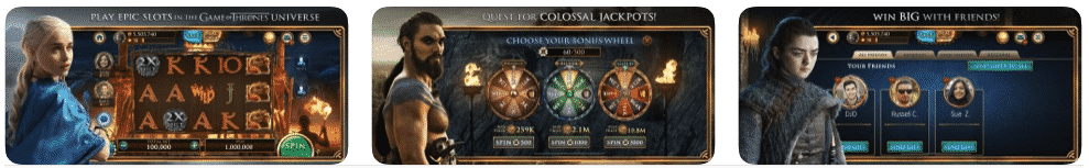 game of throne slots app